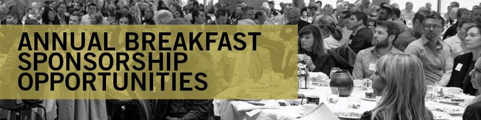 breakfast sponsorship banner