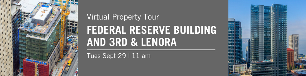 Virtual Property Tour banner - federal Reserve