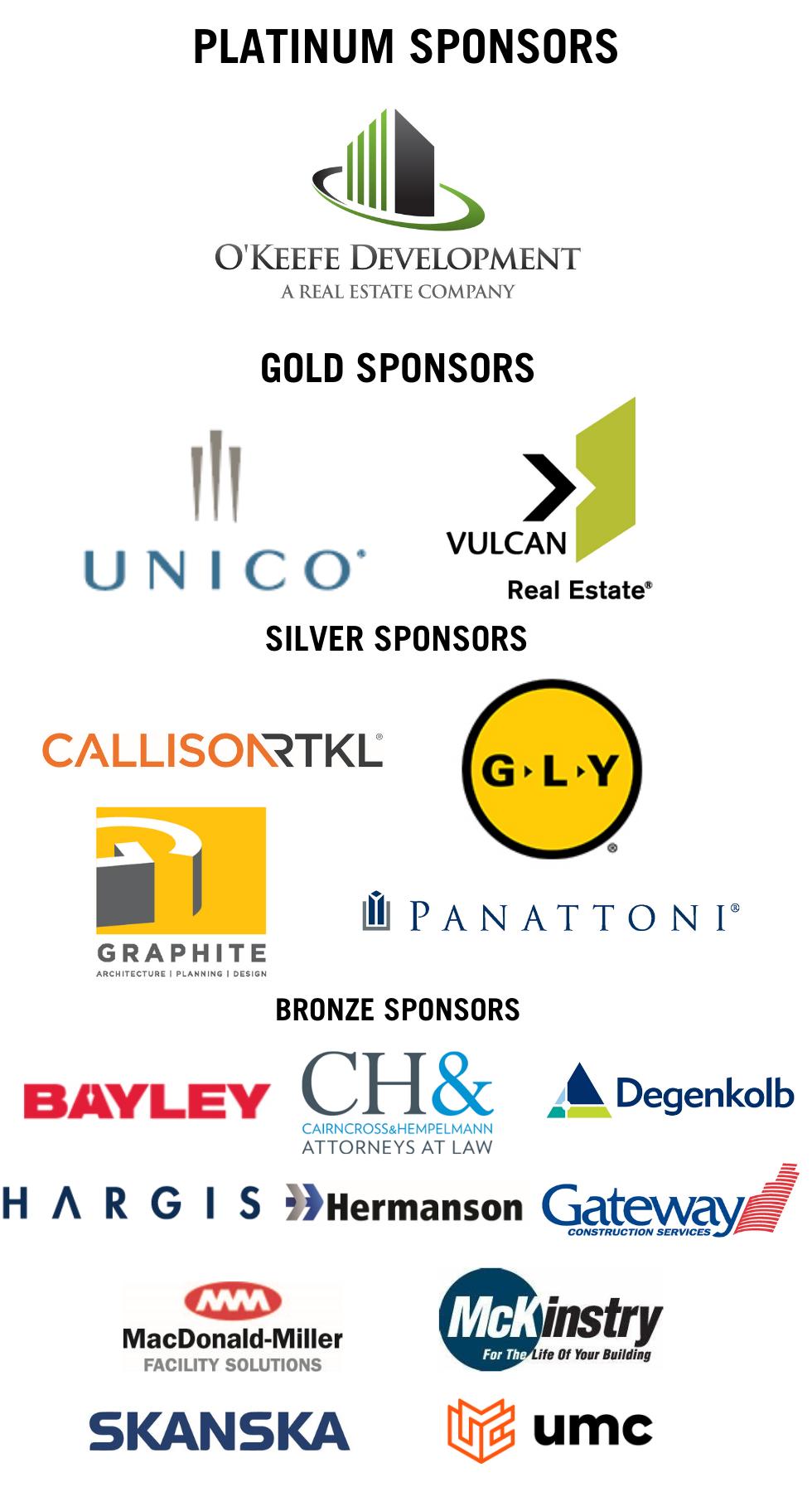 NOTS sponsors