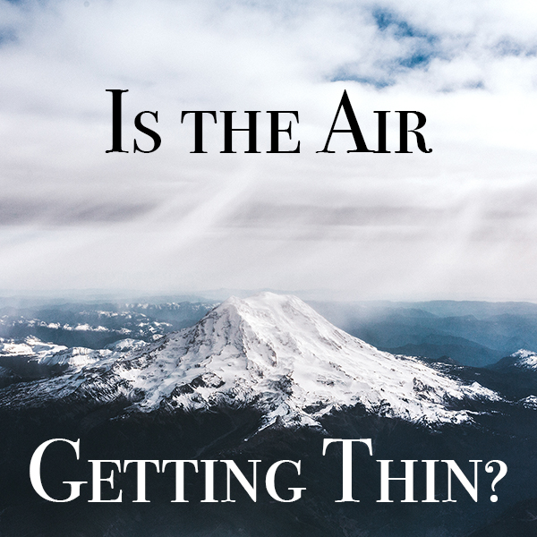 Mt Rainier with text