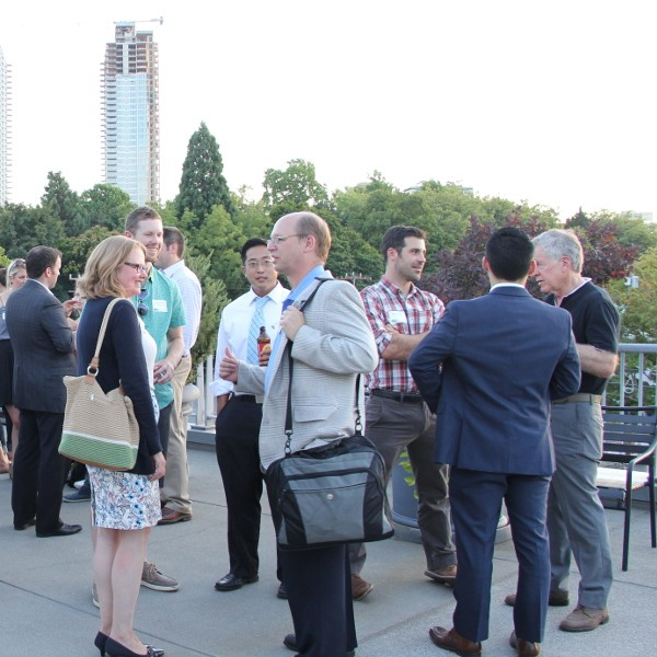 Networking on Sellen roof