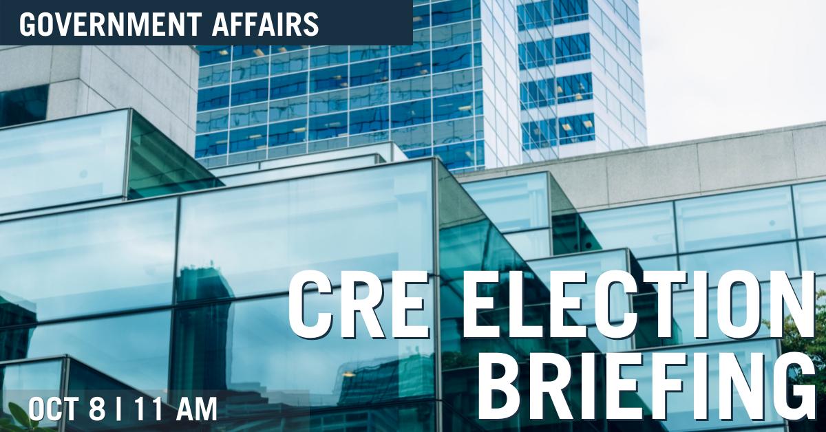 CRE Election Brief