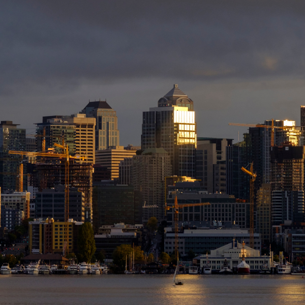 Seattle from South Lake Union