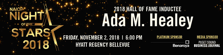 Night of the Stars 2018 Hall of Fame graphic - Ada Healey