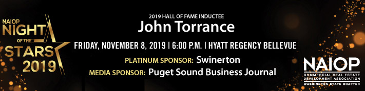 banner for NOS 2019 with Hall of Fame honoree John Torrance