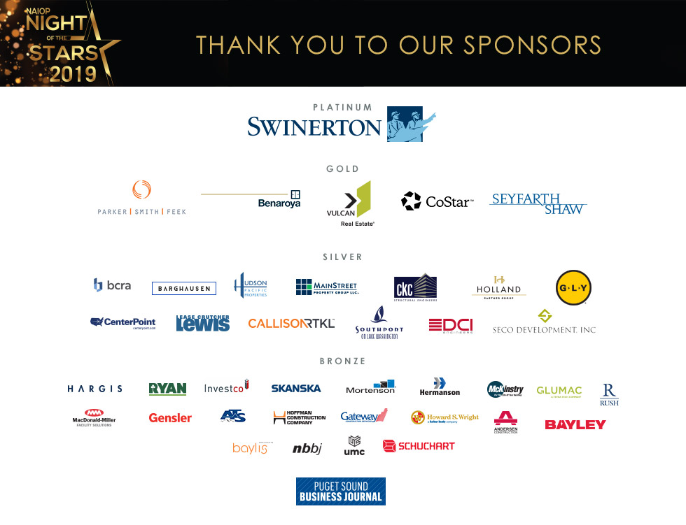 Night of the Stars sponsor logos