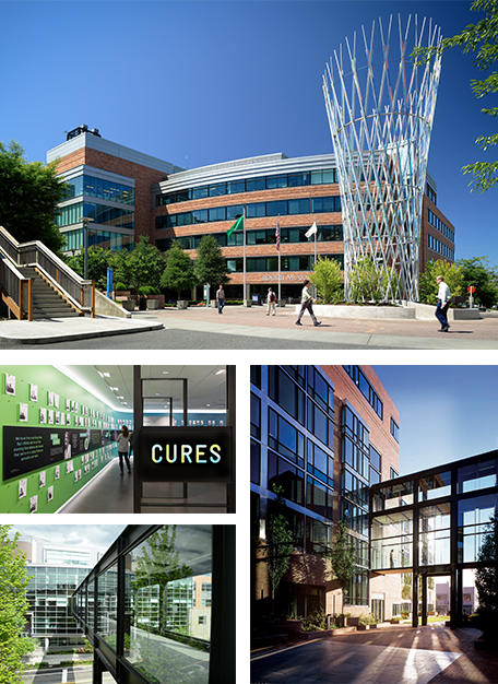 Fred Hutch campus photos