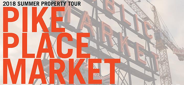 Pike Place Public Market Property Tour July 19 12pm