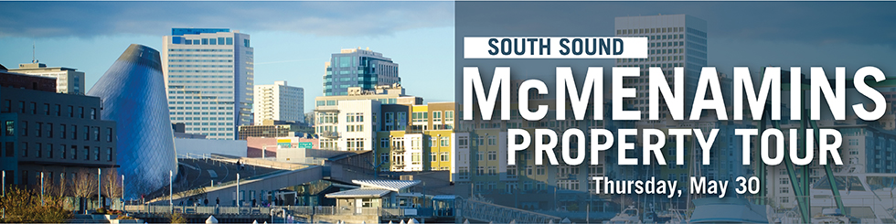 Banner image promoting South Sound property tour