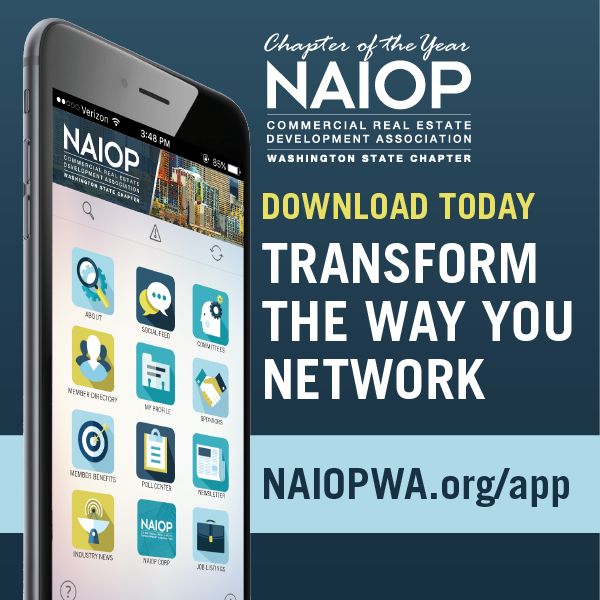 Ad for NAIOP WA app