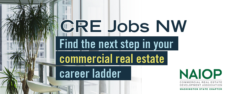 banner promoting CRE Jobs NW - NAIOPWA job board
